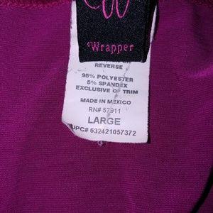 Wrapper Tops - 3/4 sleeve flowey top